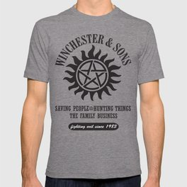 SUPERNATURAL WINCHESTER AND SONS T-shirt
