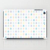 polkadot iPad Cases featuring Mini Pastel Polkadot by chelsea dawn brown