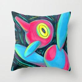 Porygon Z Throw Pillow