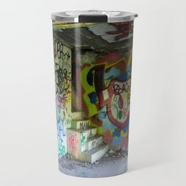 Abandoned Graffiti Travel Mug