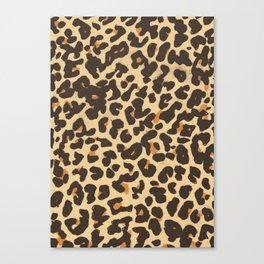 Just Leopard Canvas Print