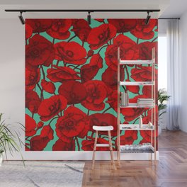 Poppies I Wall Mural