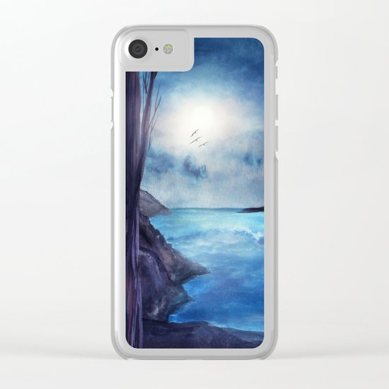 Whisper of the Heart Clear iPhone Case