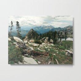 Utah Alpine Metal Print