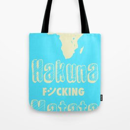 Hakuna Matata Africa Tote Bag