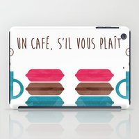 macarons iPad Cases featuring Macarons  by Daniela Marti