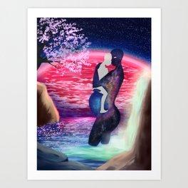 Eternal Mother Art Print
