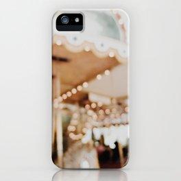Blurry Carousel iPhone Case