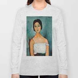 "Amedeo Modigliani ""Christina"" Long Sleeve T-shirt"