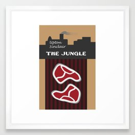 The Jungle by Upton Sinclair Framed Art Print