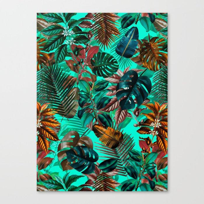 Tropical Garden II Canvas Print