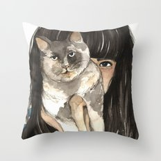 Patislene Throw Pillow