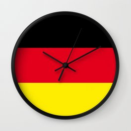 Flag of Germany Wall Clock