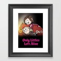Only Littles Left Alive Framed Art Print