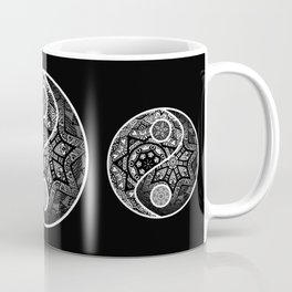 Yin Yang Zentangle Coffee Mug