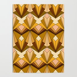 Art Deco meets the 70s Poster