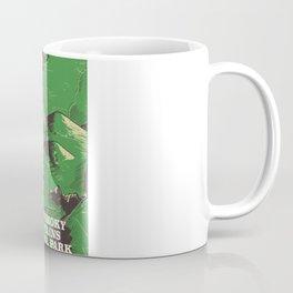 Great Smoky Mountains National Park vintage travel poster Coffee Mug