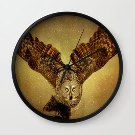 Queen of the night Wall Clock