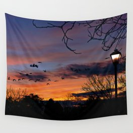 Evening Wall Tapestry