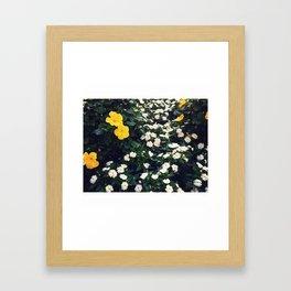 Fleur de la vie Framed Art Print
