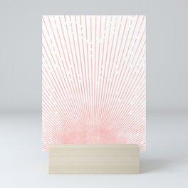 Risng Sun Abstrct Art Mini Art Print