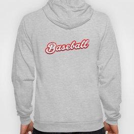 baseball - vintage & distressed Hoody