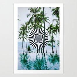 Tropical Trance Art Print