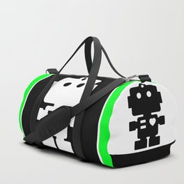 Cute Robot Duffle Bag