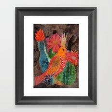 Lucia Framed Art Print