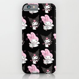 Kuromi and My Melody iPhone Case