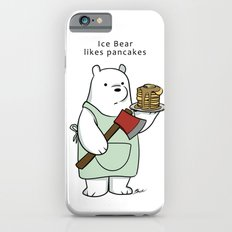 Ice Bear likes pancakes Slim Case iPhone 6s