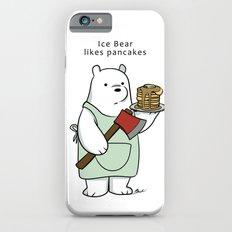 Ice Bear likes pancakes iPhone 6s Slim Case