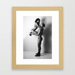 Take Her Love Higher Framed Art Print