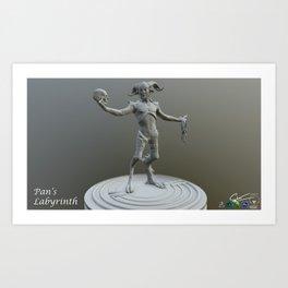 Pan 3D Art Print