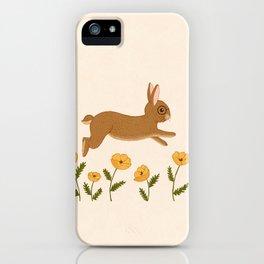golden leap iPhone Case