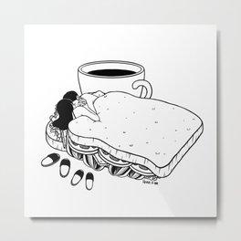 Breakfast Included Metal Print