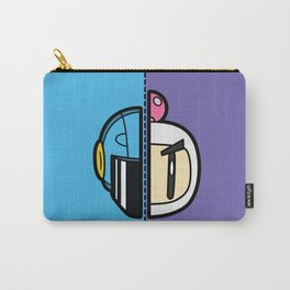 Old & New Bomber Man Carry-All Pouch