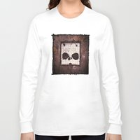 ed sheeran Long Sleeve T-shirts featuring Block Ed by Sirenphotos