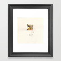 I'm not a banana-VII Framed Art Print