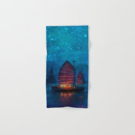 Our Secret Harbor Hand & Bath Towel