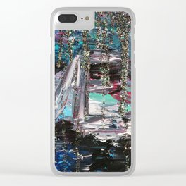L I V E Clear iPhone Case