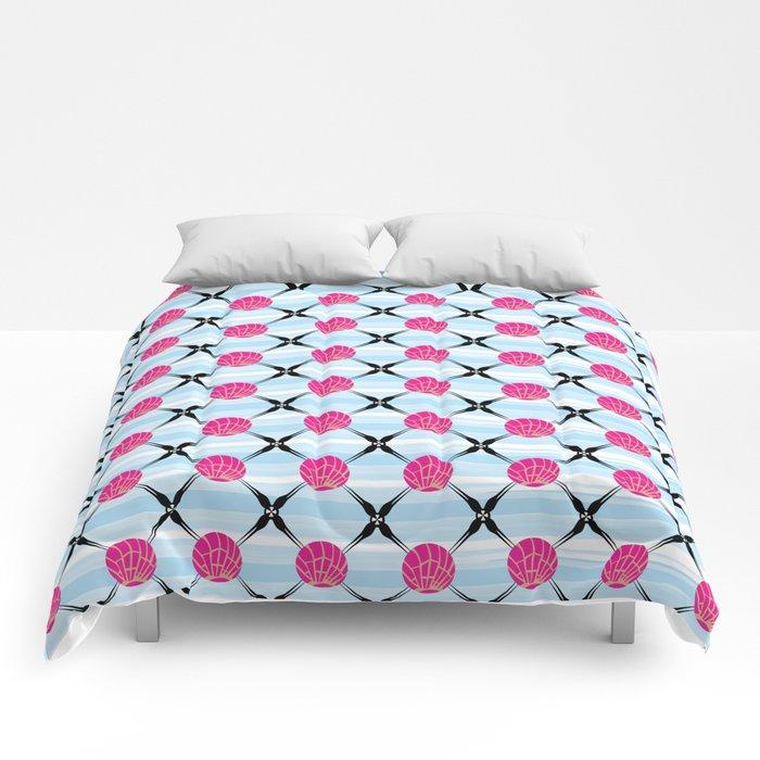 Sky Conch Comforters