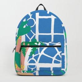 Postmodern Garden Window Backpack