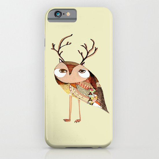 owl print, owl illustration, owl art, owl  iPhone & iPod Case