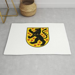 flag of weimar Rug