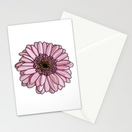 Gerbera in Pink Stationery Cards