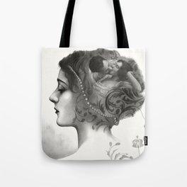 Requiro - pencil drawing Tote Bag