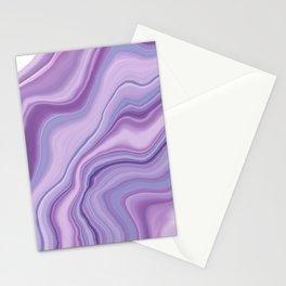 Liquid Unicorn Agate Dream #1 #pastel #decor #art #society6 Stationery Cards