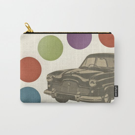 Driving Around in Circles Carry-All Pouch