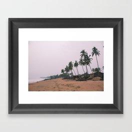 Huts- Cape Coast Ghana Framed Art Print